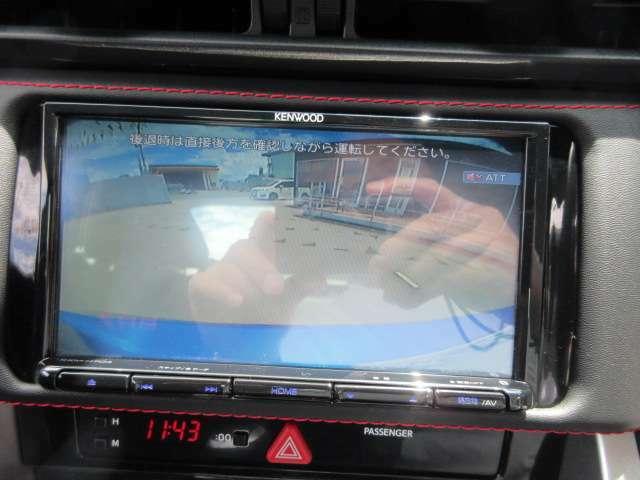純正メモリーナビ付き♪ バックカメラで駐車も安心ですね♪ 広角のカメラを使用しております♪