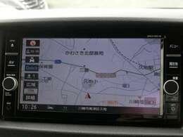 メモリーナビ<MM318D-W>(フルセグTV/CD/DVD/SD/Bluetooth/録音機能)