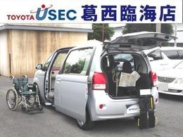 トヨタ ポルテ 1.5 X ウェルキャブ 助手席回転チルトシート車 Bタイプ TSSC キーレス 専用車イス 左側オートドア