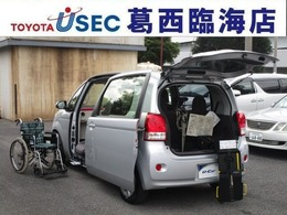トヨタ ポルテ 1.5 X ウェルキャブ 助手席回転チルトシート車 Bタイプ TSSC 専用車いす付 キーレス 左自動ドア