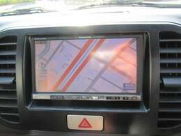 PanasonicHDDナビ フルセグTV・CD・DVDビデオ ナビ型式:CN-HW851D ナビ取扱説明書あり
