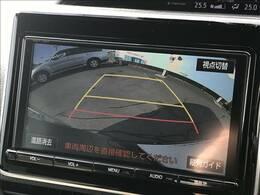 バックカメラがついておりますので駐車も楽々ですね!!