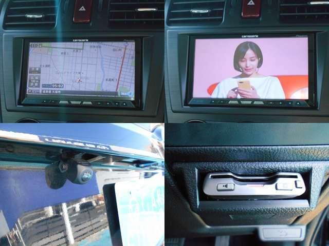 カロッツェリア製ナビ付き!!充実のナビ機能はもちろん高画質な『フルセグTV』や『Bluetoothオーディオ』など充実機能!!駐車時便利な『バックカメラ』!!高速ラクラクETCも付いてます!!!