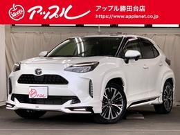 トヨタ ヤリスクロス 1.5 Z 4WD モデリスタフルエアロ/純正ナビ/Bモニター