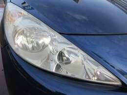 くすみやすいヘッドライトはクリアできれい♪ヘッドライトがきれいだと車のイメージもグッと良くなりますよね♪