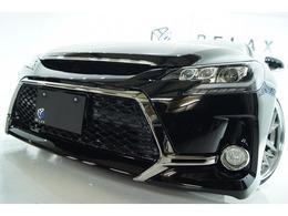 トヨタ マークX 2.5 250G リラックスセレクション Gs NEWライト新品WORKアルパイン8inナビ
