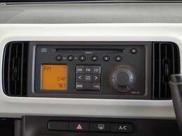 CD、AM/FMチューナーを装備してます。