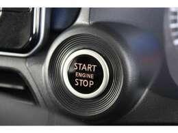 エンジンスイッチもボタンひとつでON/OFF出来ます!