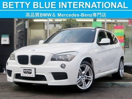 BMW X1 sドライブ 18i Mスポーツパッケージ iドライブナビゲーションP 赤革