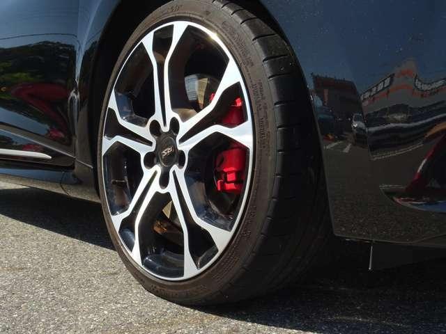 ではタイヤ・ホイール、そうそう、このモデルのR.Sシリーズで18インチ装着はTROPHYだけ!・・・では、右前から!(続く)