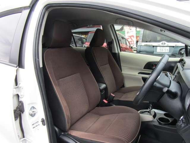 上質なシート生地が採用されているGタイプのシート!丁寧に使用されていてキレイです!