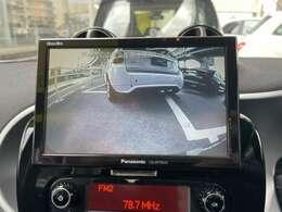 ポータブルナビゲーションを装備しておりますが、バックカメラモニターも兼用となっております。
