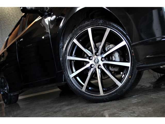 新品BRANDLE18インチブラックポリッシュアルミ&新品タイヤ225/40R18☆