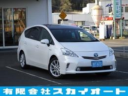 トヨタ プリウスα 1.8 G ツーリングセレクション スカイライトパッケージ 純正HDDナビ/Bカメラ/Bluetooth/クルコン
