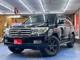 トヨタ ランドクルーザー200 4.7 AX Gセレクション 4WD 革シート 純正HDDナビ 18AW