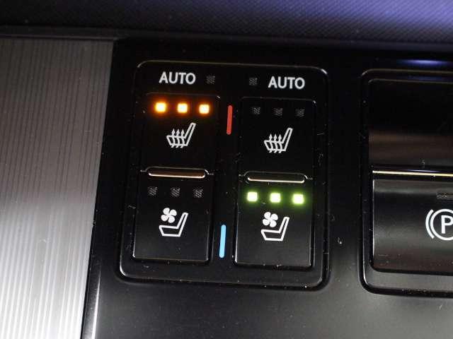 ポジションメモリー付シートです。シートやステアリング、ドアミラーの位置をそれぞれ記録しておくことが出来るのでご家族や、複数の方で車を乗られる方には便利な機能です。