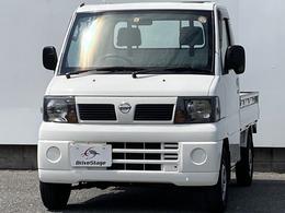 日産 クリッパートラック 660 DXエアコン付 三方開き/エアコン/パワステ/エアバッグ