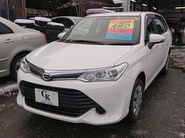 トヨタ カローラフィールダー 1.5 X 4WD 横滑り防止装置・純正CD・キーレス