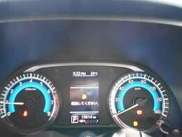 様々な車両情報を表示してくれる、アドバンスドドライブアシストディスプレイがついています