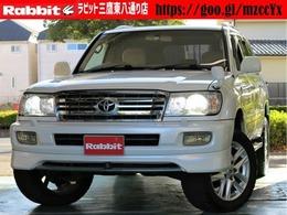 トヨタ ランドクルーザー100 4.7 VXリミテッド 4WD 1ナンバーバン仕様リフトUPアルパイン9ナビ