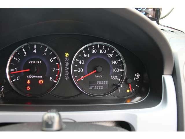 26333キロ!当店のお車は全車走行メーター管理システムによる走行距離チェック通過済みです!メーター改ざん車は販売致しませんのでご安心下さい!