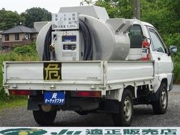 トヨタ ライトエーストラック 4WD 0.69KL軽油タンクローリー車 エムケー精工製 5速MT