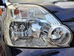 しっかりとクリアで、黄ばみやくもりのないヘッドライト♪ヘッドライトがきれいだと車のイメージも良くなりますね♪