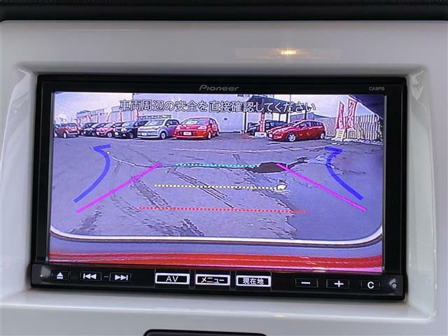 バックカメラも付いて駐車時も安心です!