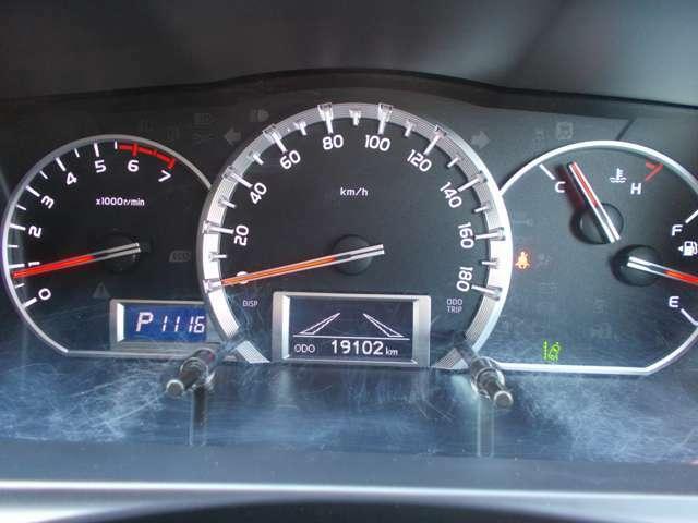 走行距離19.102kmです。