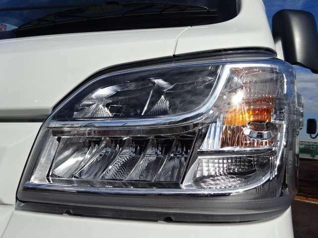 LEDヘッドライト付き!