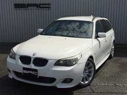 BMW 5シリーズツーリング 525i Mスポーツパッケージ Mスポーツ・黒革・HID・純正AW