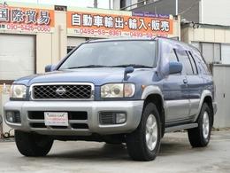 日産 テラノ 3.3 ワイド R3m-R 4WD 2DINナビ 背面タイヤ アルミホイール285