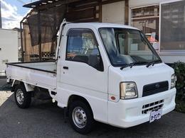 スバル サンバートラック 660 TB 三方開 4WD 5速マニュアル・エアコン・パワステ