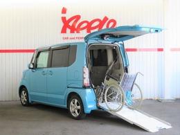 ホンダ N-BOX+ 660 G Lパッケージ 車いす仕様車 禁煙 スローパー 電動ウィンチ リモコン