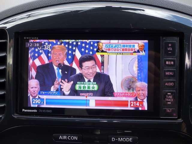 鮮明なフルセグテレビです