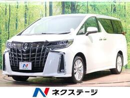 トヨタ アルファード 2.5 S 純正9型SDナビ フリップダウンモニター