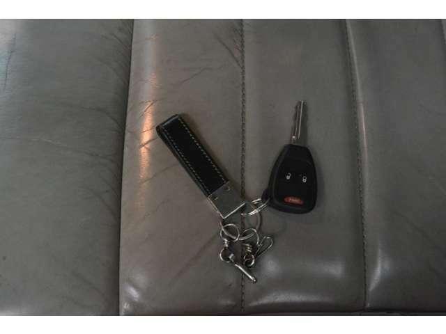キーレスキーですので施錠解錠もスイッチひと押し(^O^)/