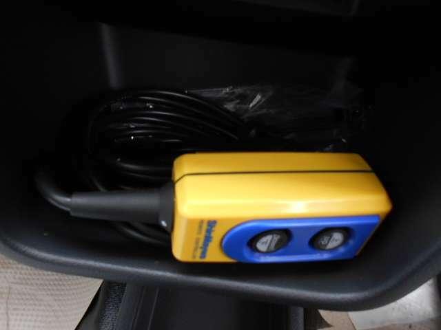 リフトダンプの作動スイッチ。リフトで上がった状態でも操作できます。