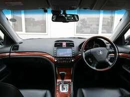 前方の視界もよく運転もしやすい作りになっています♪