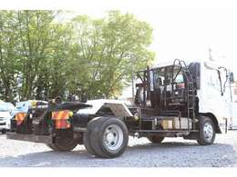 新明和アームロール CCA44-30 積載3650kg 車両総重量7990kg ツインホイスト リモコン シート置き