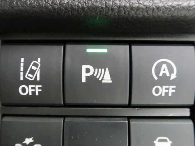 ☆リアパーキングセンサー☆後退時ブレーキサポートと車庫入れなどの運転時、障害物の接近を4段階のブザーで知らせてくれます。
