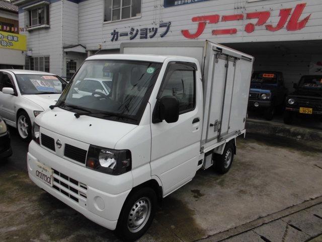 平成23年式クリッパー冷凍冷蔵車マイナス20度入庫致しました!!