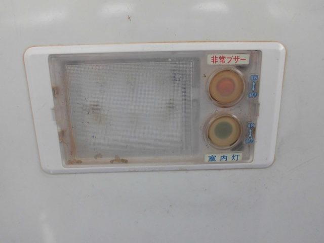 非常ブザー&室内灯付きで安全です。