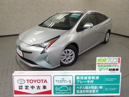トヨタ プリウス 1.8 S セーフティ プラス メモリ-ナビ LED バックモニタ-