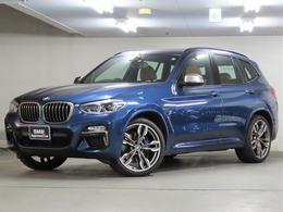 BMW X3 M40d ディーゼルターボ 4WD 茶革 フロント&リアシートヒーター