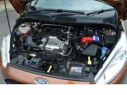 1.0L EcoBoostエンジンを搭載し1.6LNAエンジン相当のパワーを発揮します!