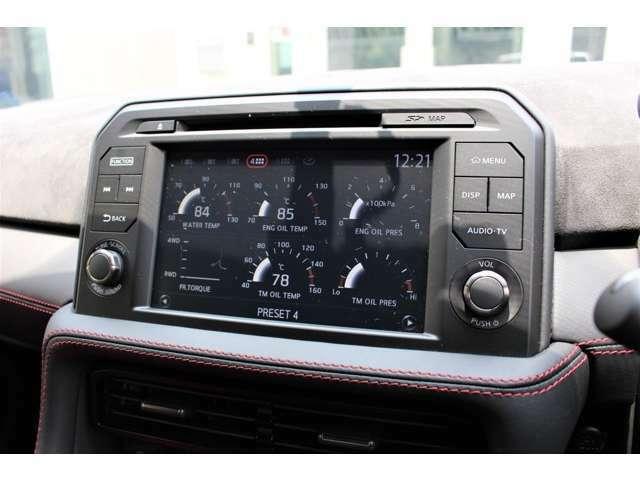 データシステム NTV356B-B ビルトインTVキット装着で走行中もTV映ります。純正スイッチ仕様で見た目も損ないません。
