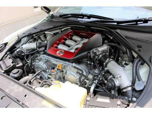 ハンドメイド製作されたニスモ専用チューンエンジMobil-1 0W-40 GT-R専用エンジンオイル交換 R2.6.26