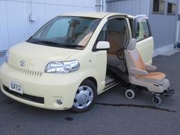 トヨタ ポルテ 1.5 150r ウェルキャブ サイドアクセス車 脱着シート仕様 Aタイプ ボイスナビバックカメラ