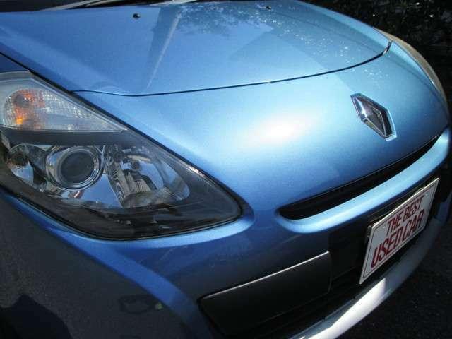綺麗な青のルーテシアいかがでしょうか。全国納車承ります。是非お問い合わせください。タイミングベルト交換してお渡しいたします。